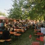 Liederkranz Rießfest 2017 - Hocktest im Garten