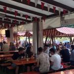 Bestes Wetter und viele Besucher im Rießgarten des Liederkranz Magstadt.