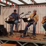 Klasse Unterhaltung durch die Musik der Old Men Blues Band.