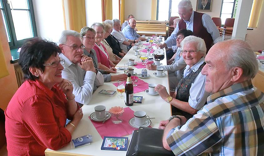 Gemütliches Treffen der fördernden Vereinsmitglieder