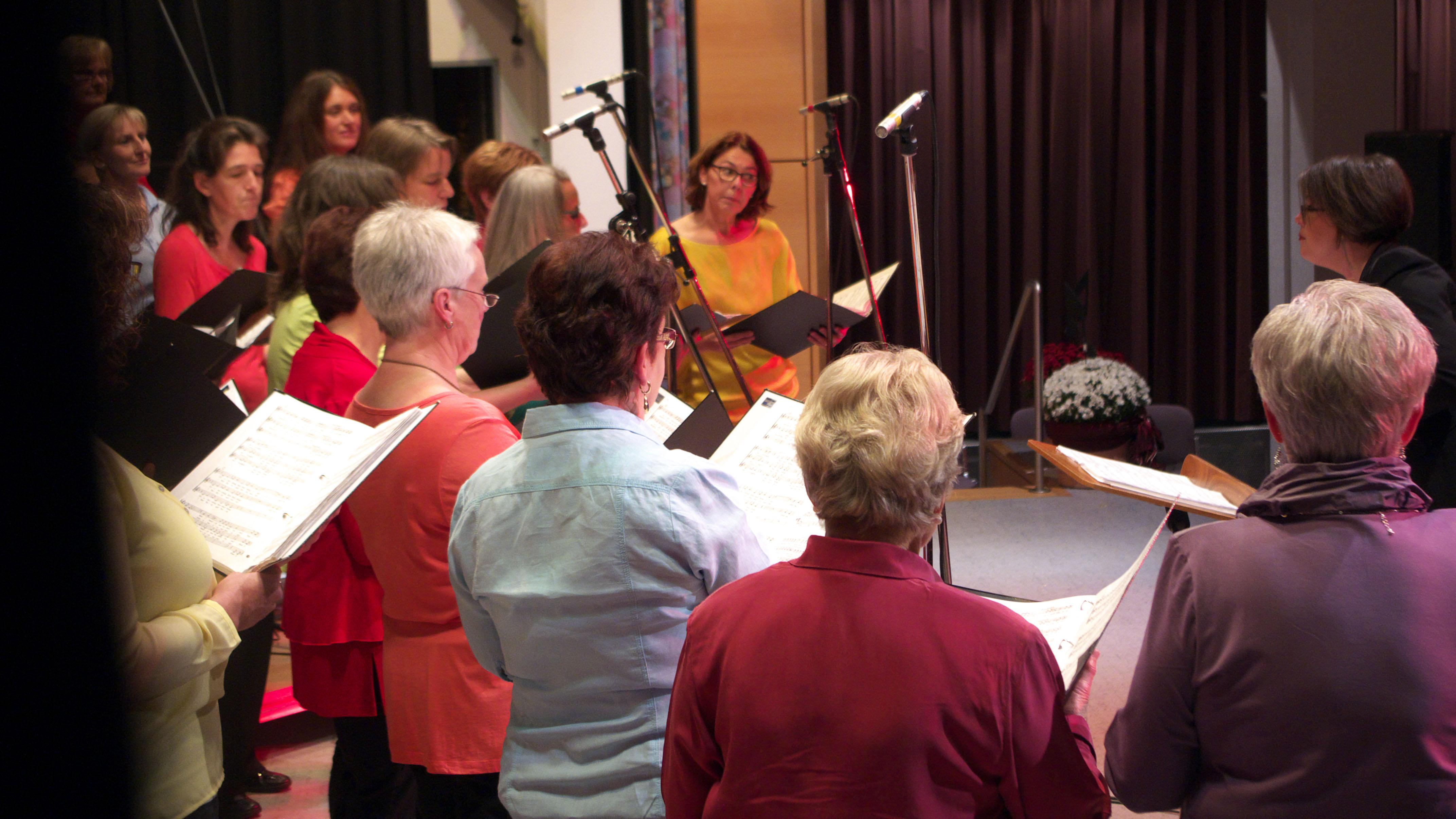 """Der Frauenchor des Liederkranz Magstadt: """"Reine Frauensache!"""""""