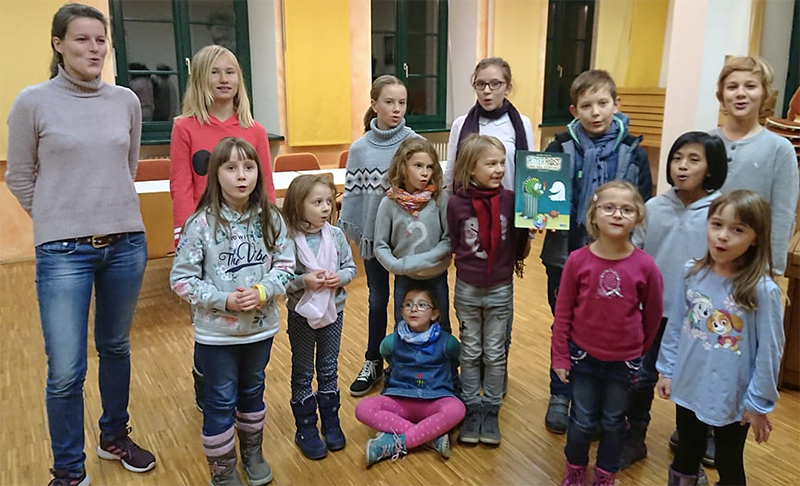 Probe der SwingingKids, Kinderchor Magstadt